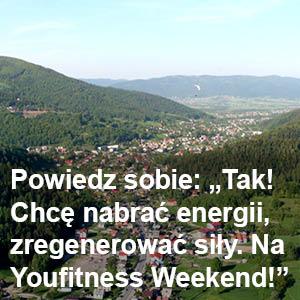 Zapisz się na YouFitness Weekend i naładuj akumulatory!